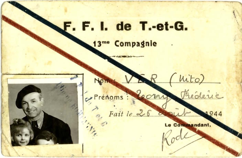 La carte de FFI de NITO