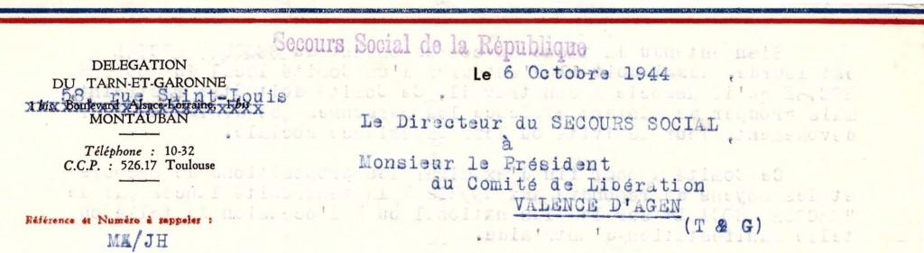 Organisation du Secours Social
