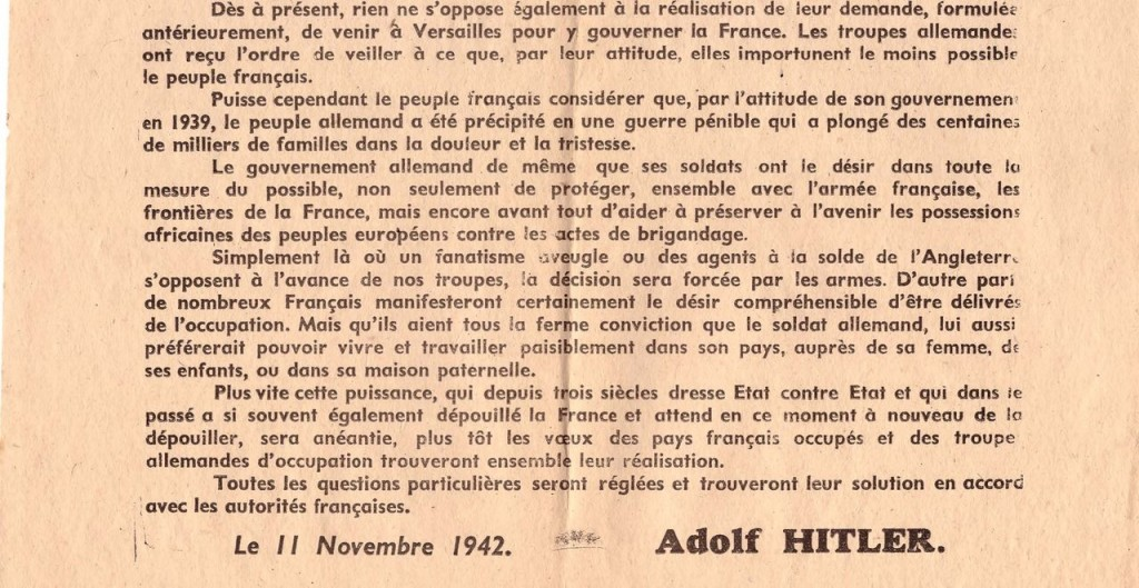 Tract Adolf Hitler (suite)