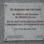 Nouvelle stèle à Saint-Porquier